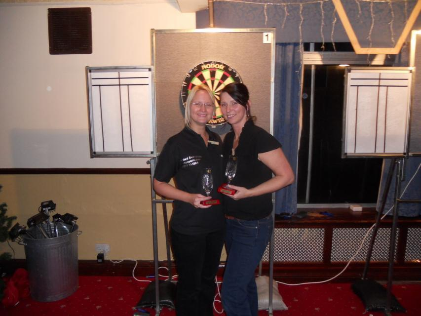 Sally Rose & Claire Whatley Devon Open Ladies Pairs Winners 2011