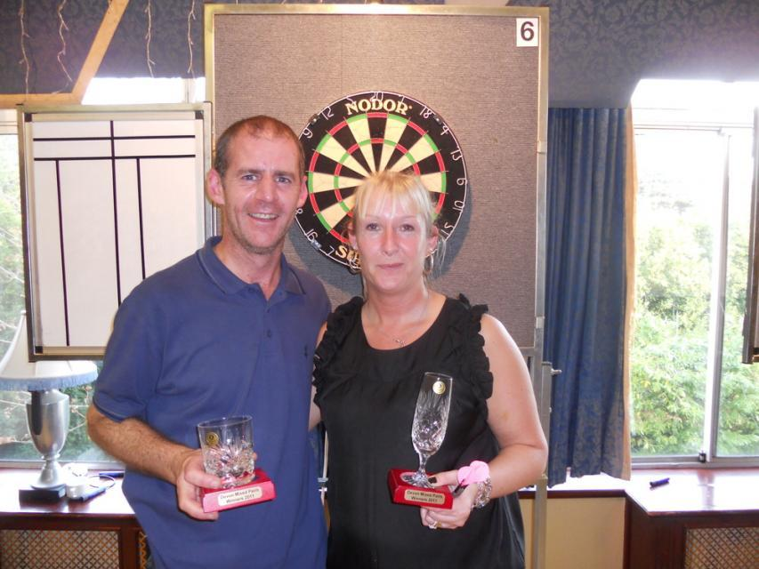 Steve Atkinson & Jo Dean Devon Open Mixed Pairs Winners 2011