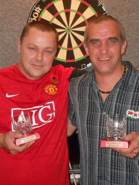 Chalkey & Partner Devon OPen Mens Pairs Winners 2011