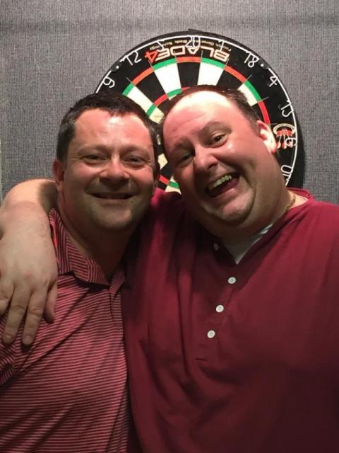 Gary Whittles & Mike Pearce Mens Pairs R/Up