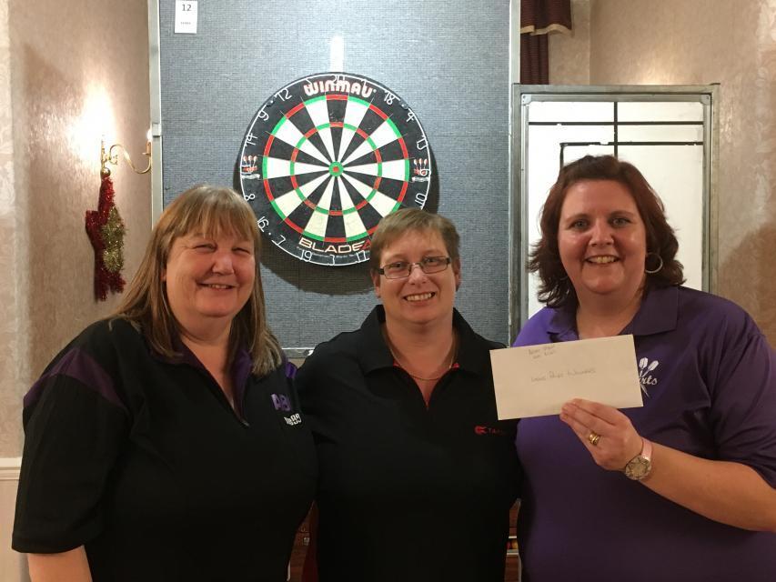 Ladies Pairs Winners Kay Bisset & Becky Taylor