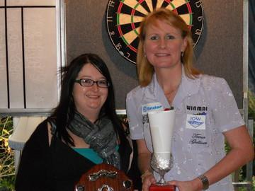 Trina Gulliver Devon Open Ladies Singles Winner 2010