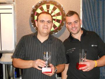 Simon Whatley & Terry Rose Devon Open Mens Pairs Winners 2010